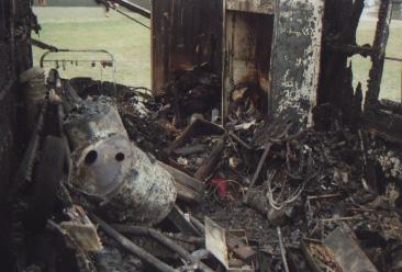 Bauwagenbrand am 27.12.1989