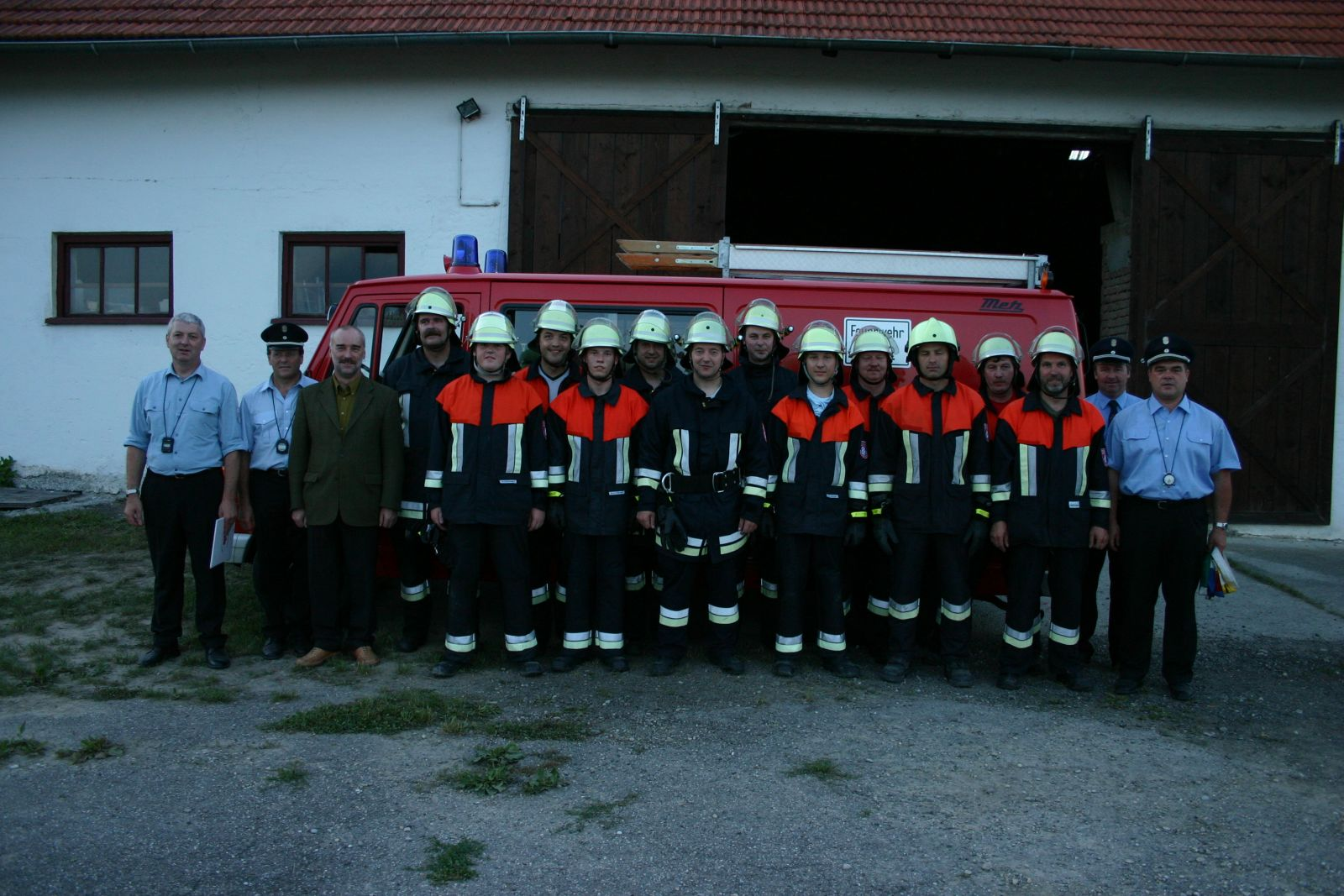 Leistungsabzeichen Bruckbergerau 2007