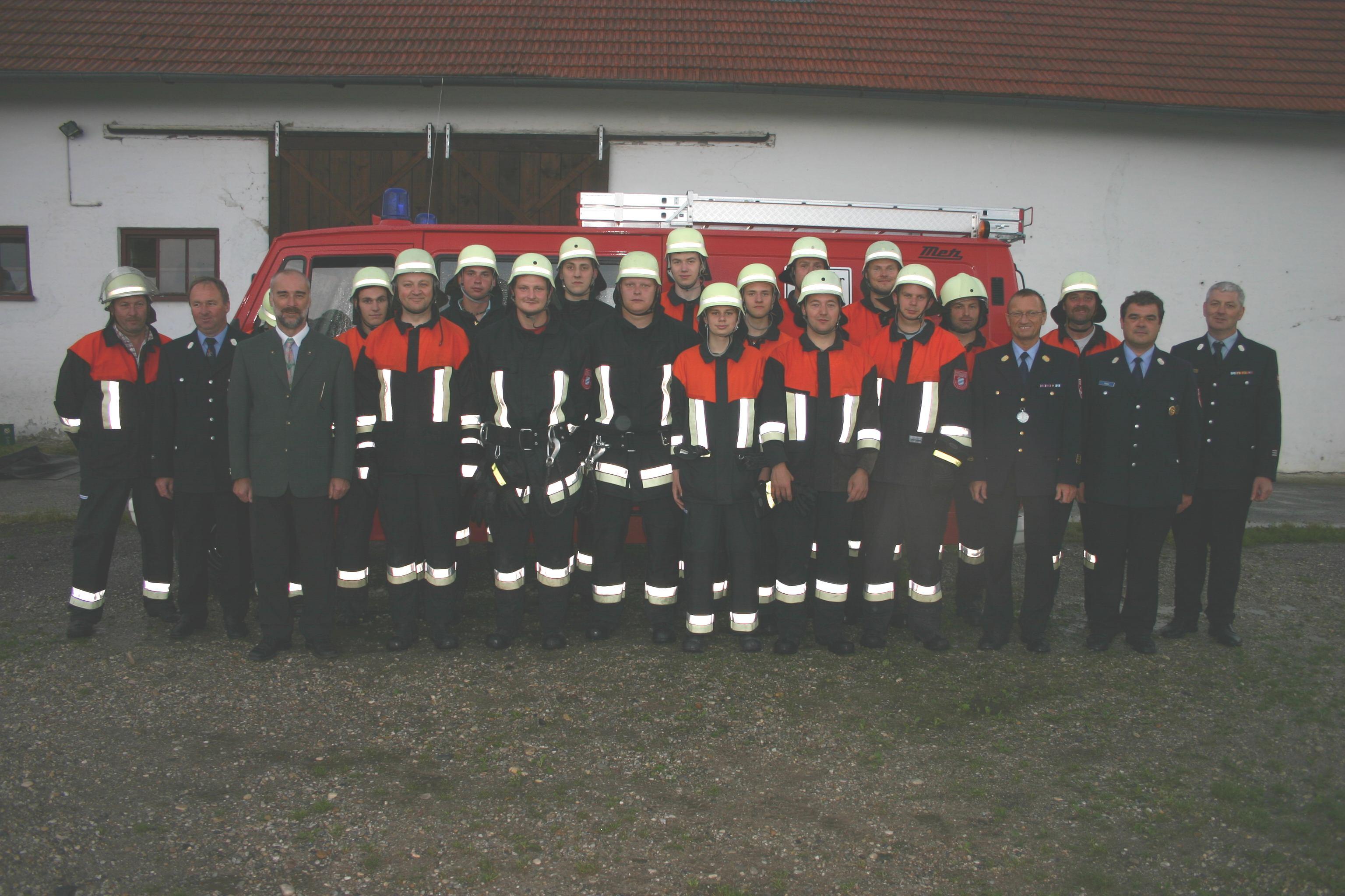 Leistungsabzeichen Bruckbergerau 2008