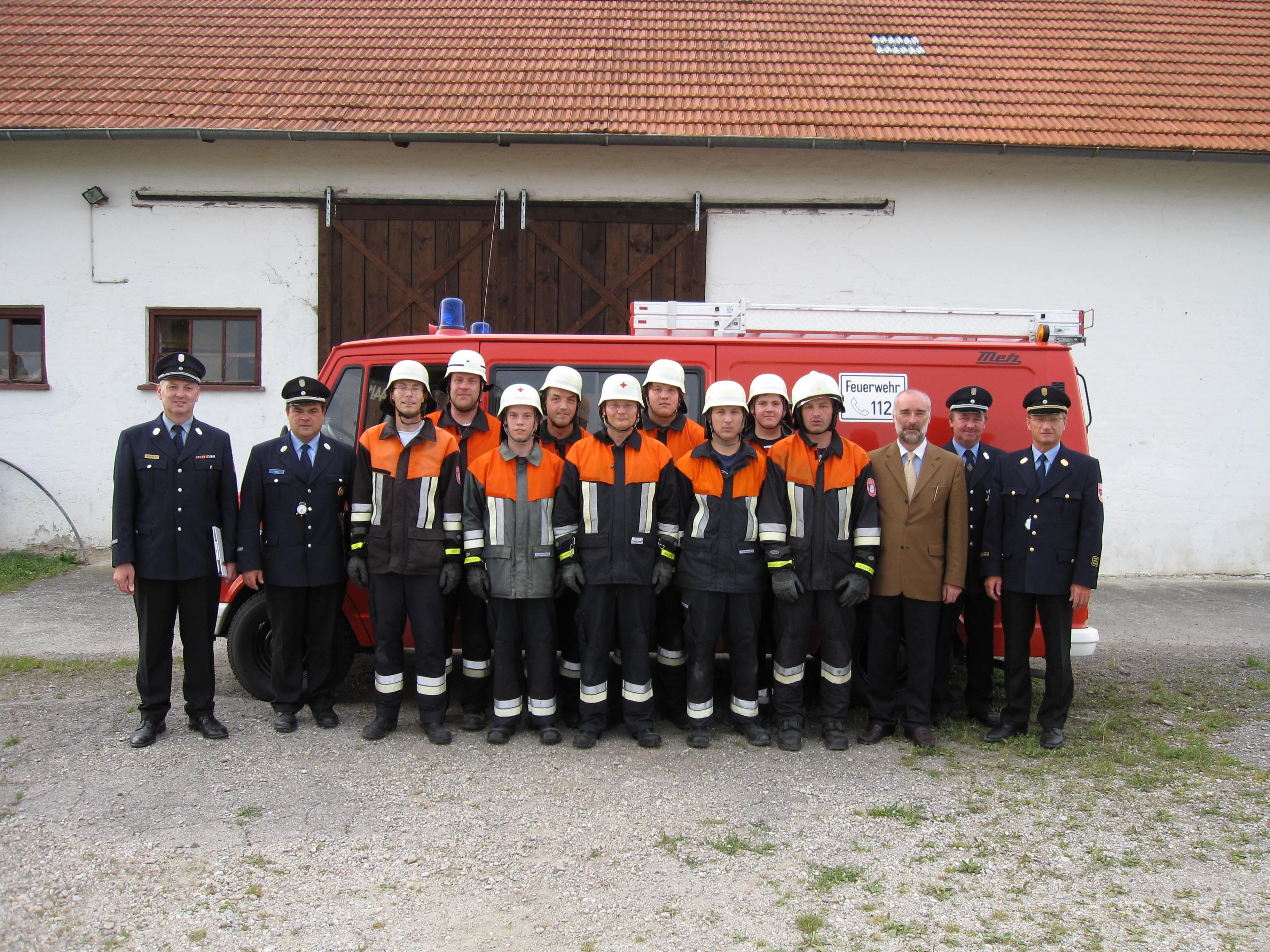Leistungsabzeichen Bruckbergerau 2009